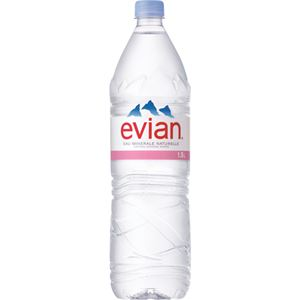 エビアン ナチュラルミネラルウォーター 1.5L×12本(正規輸入品)