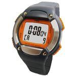 F-RUN(エフラン) ハートメーター カロリー計算機能付 10気圧防水 HC00WRG オレンジ