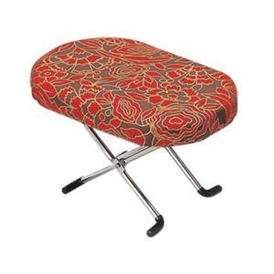 らくらく正座椅子 高さ切替3段式 赤 N-2-3 - 拡大画像