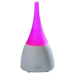 超音波アロマ加湿器 アロマポット ピンク(アロマディフューザー) - 拡大画像