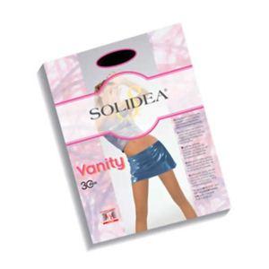 SOLIDEA(ソリディア) 加圧パンティストッキング VANITY 30デニール ブラック L - 拡大画像