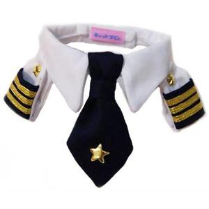 ボクはパイロット 襟章ネクタイシャツ - 拡大画像