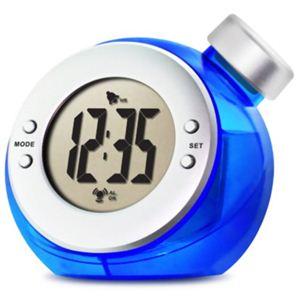 ベルソス ウォーター バッテリー アラームクロック(目覚まし時計) ブルー VS-302 - 拡大画像