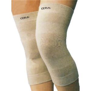 麻混さわやかサポーター 膝(ひざ)用 2枚組 M-L - 拡大画像