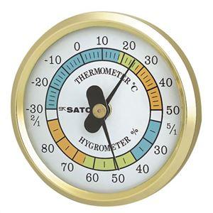 φ65温湿度計 TH-65 - 拡大画像