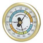 φ65温湿度計 TH-65