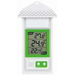 エンペックス デジタル最高最低・温度計 TD-8155 - 拡大画像