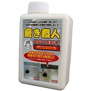 技職人魂 磨き職人 キッチンシンク・浴室鏡クリーナー 詰替え 500ml - 拡大画像