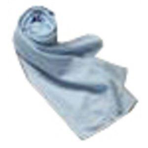 クールマックスを使った涼しいスカーフ レギュラー ブルー - 拡大画像