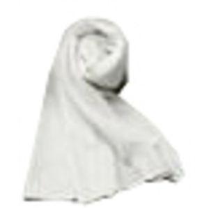 クールマックスを使った涼しいスカーフ レギュラー ホワイト - 拡大画像
