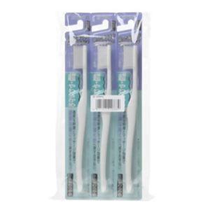 エビス 超やわらかめ歯ブラシ 3本組(とくにやわらかめ) - 拡大画像