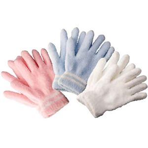 マイクロファイバーお掃除手袋3色組 - 拡大画像