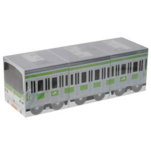 E231系山手線 プラレールキューブ ティッシュ 50組×3個パック