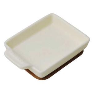 トースタープレートS フラット クリーム TO-011 - 拡大画像