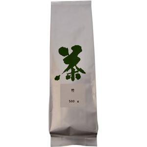 八女茶 業務用深蒸茶 竹 500g - 拡大画像