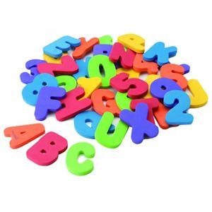 マンチキン アルファベットと数字のお勉強 バス レター&ナンバー 12341020 - 拡大画像