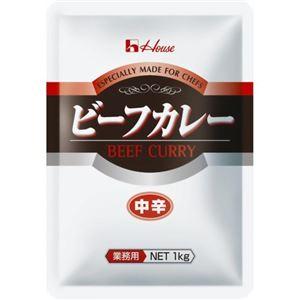 ハウス食品 ビーフカレー(中辛) 1kg - 拡大画像