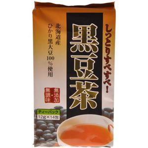 黒豆茶 12g×14包 - 拡大画像