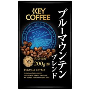 キーコーヒー VP ブルーマウンテンブレンド(粉) 200g - 拡大画像