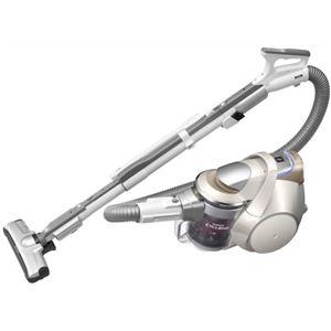 シャープ プラズマクラスターサイクロン掃除機 EC-WX300-N ゴールド系・シャンパンゴールド - 拡大画像