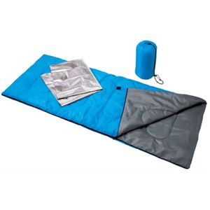 防寒寝袋セット - 拡大画像