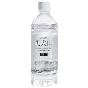 【ケース販売】奥大山の水 500ml×24本 - 拡大画像