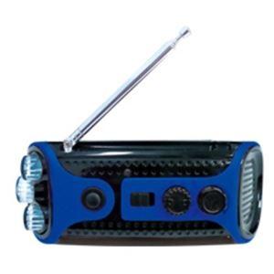 レッドスパイス クランキングラジオ&ライト ブルー CB-G4111BL - 拡大画像