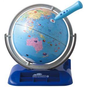しゃべる国旗付地球儀 OYV400 - 拡大画像