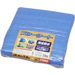 アイリスオーヤマ ブルーシート(約540cm×約720cm) B20-5472 ブルー