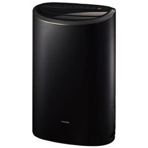 東芝 除湿乾燥機(コンプレッサー方式) ブラック RAD-CP100-K - 拡大画像