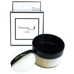 ダイヤモンドビューティー パフ No.3 オーロラフェイス パフ付 30g - 拡大画像