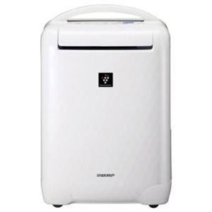 シャープ プラズマクラスター 冷風・衣類乾燥除湿機 CV-B100-W ホワイト系 - 拡大画像
