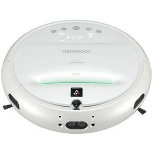シャープ ロボット家電(ロボットクリーナー) COCOROBO(ココロボ) RX-V100-W パールホワイト - 拡大画像