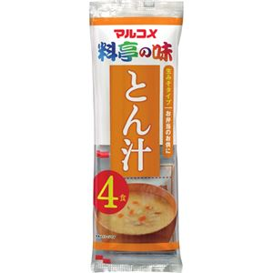 (お徳用 2セット) マルコメ 生みそタイプ とん汁 4食 ×12個 ×2セット - 拡大画像