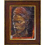 ユーパワー ファビーネ アレッティ ゲル加工アートフレーム エチオピア 長Mサイズ FA-09001