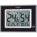 シチズン 温度・湿度計 黒 8RD200-002