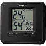 シチズン 温度・湿度計 黒 8RD203-002