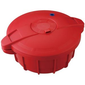 MEYER 電子レンジ圧力鍋 レッド MPC-2.3RD - 拡大画像
