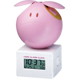 リズム時計 キャラクタークロック ガンダム 元気なハロ SEED ピンク 8RDA45RH13 - 拡大画像