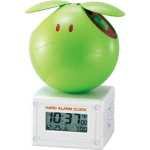 リズム時計 キャラクタークロック ガンダム 元気なハロ 黄緑 8RDA42RH05 - 拡大画像