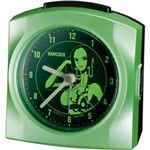 リズム時計 キャラクタークロック ワンピース ボア・ハンコック グリーンパール色(集光樹脂) 4SE436MN05