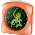 リズム時計 キャラクタークロック ワンピース モンキー・D・ルフィ オレンジパール色(集光樹脂) 4SE436MN14