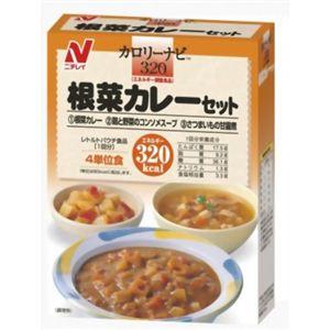 カロリーナビ 根菜カレーセット 320kcal - 拡大画像