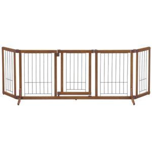 リッチェル 木製おくだけドア付ゲート L - 拡大画像
