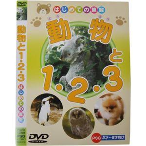 はじめての算数 動物と1・2・3 - 拡大画像