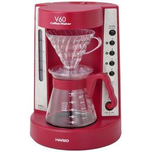ハリオ V60コーヒーメーカー ワインレッド EVCM-5WR - 拡大画像