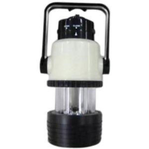 ヤザワ 乾電池式 暗闇でも見つけやすいLEDライト&ランタン BL104LPBBK - 拡大画像