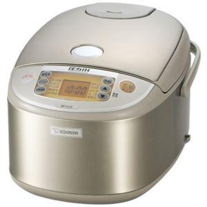 象印 圧力IH炊飯ジャー(1升炊き) 極め炊き ステンレス NP-HJ18-XA - 拡大画像