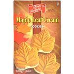 (まとめ買い)テイストデライト メイプルリーフクリームクッキー 400g×5セット