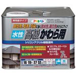 アサヒペン 水性高級かわら用 日本瓦銀 7L